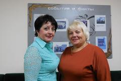 Н.Лящук с председателем профсоюзной организации А — копия